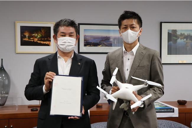 奈良市、「災害時等におけるドローンを活用した支援活動等に関する協定」を締結[ニュース]