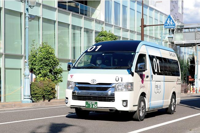 塩尻市、10月からAI 活用型オンデマンドバス「のるーと」の有償実証運行をスタート[ニュース]